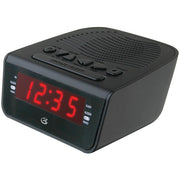 ".6"" LED AM-FM Alarm Clock"