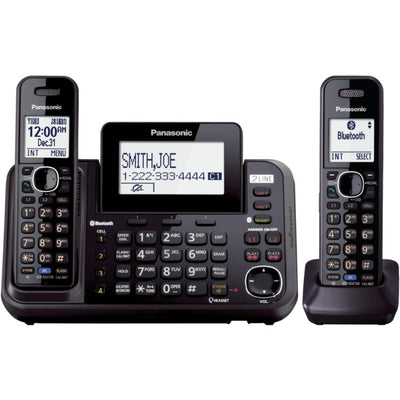 Link2Cell(R) 2-Line Cordless Phone (2 Handsets)