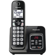 Expandable Cordless Phone with Call Block & Answering Machine (Single Handset)