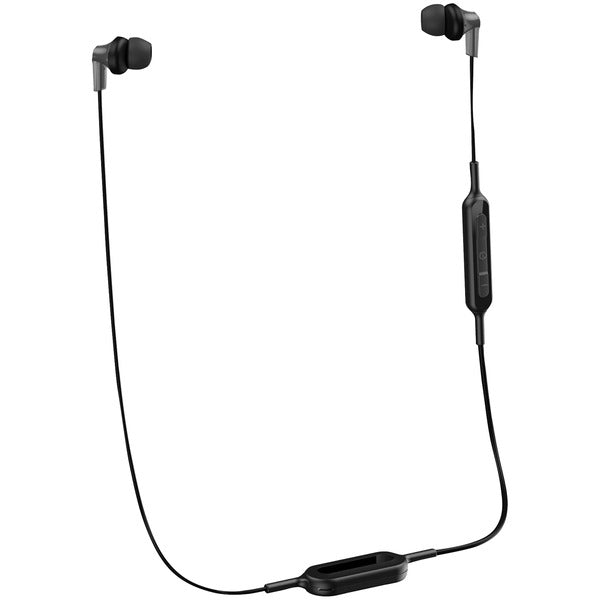 ErgoFit In-Ear Earbud Headphones with Bluetooth(R) (Black)