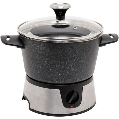 THE ROCK(TM) by Starfrit(R) 3.2-Quart Electric Fondue Set