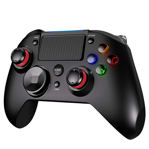 Wireless PS4 Controller Pro Game Controller Gamepad Joypad Joystick Kompatibel mit PS4, PS4 Slim, PS4 Pro