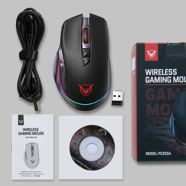 PICTEK Rechargeable Wireless Gaming Mouse, RGB