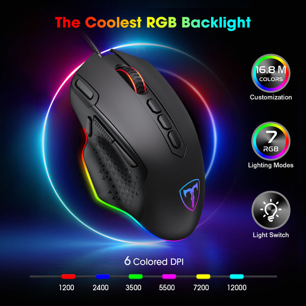 PICTEK RGB Gaming Mouse