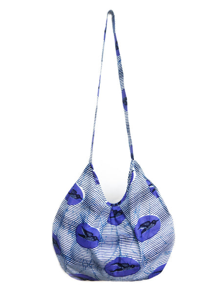 Purple Soaring Hobo Bag