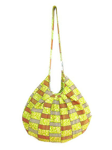 Basket Weave Hobo Bag