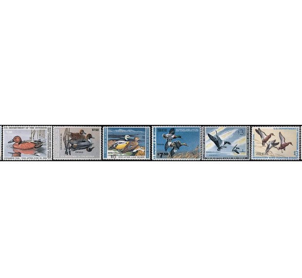 1960 Federal Duck Stamp Collection - Covey and Paddle