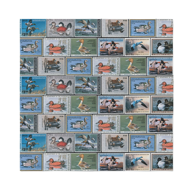 1980's Duck Stamp Collection - Bandanna - Covey and Paddle