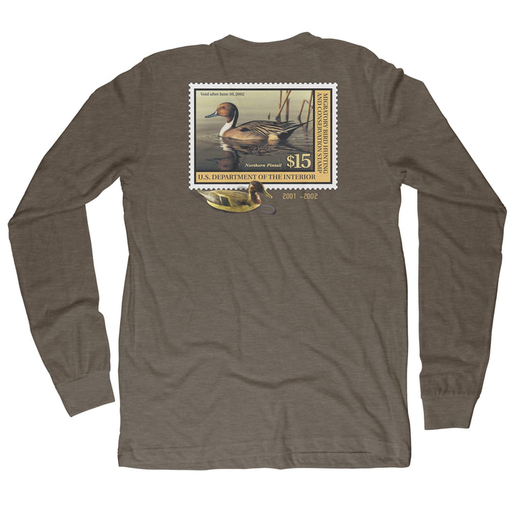 2001-2002 L/S Federal Duck Stamp - Covey and Paddle