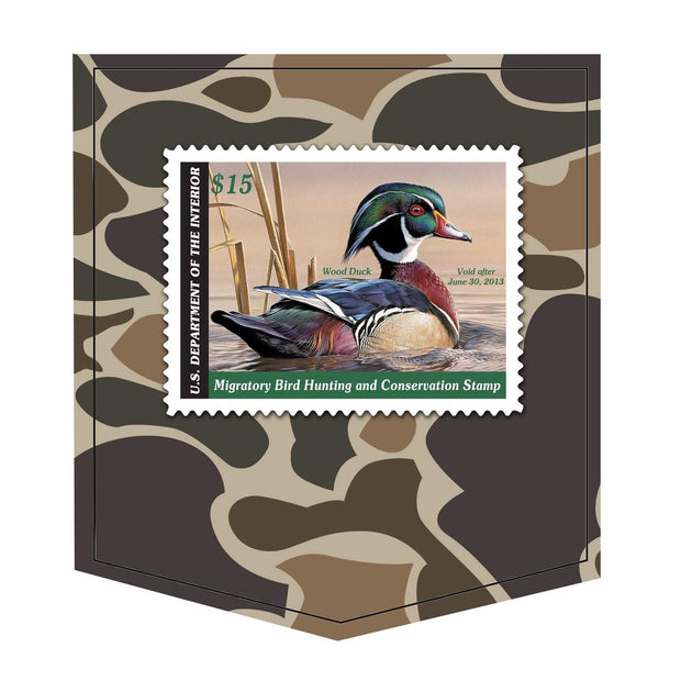 2012-2013 Federal Duck Stamp - Covey and Paddle