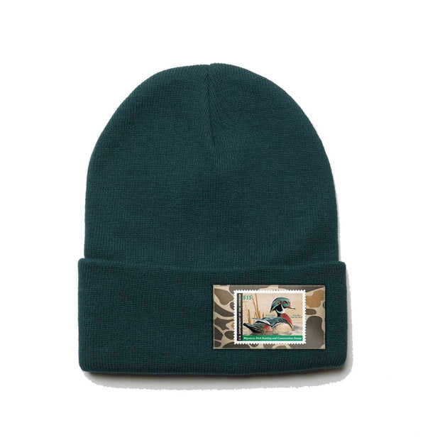 2012-2013 Federal Duck Stamp Beanie - Covey and Paddle