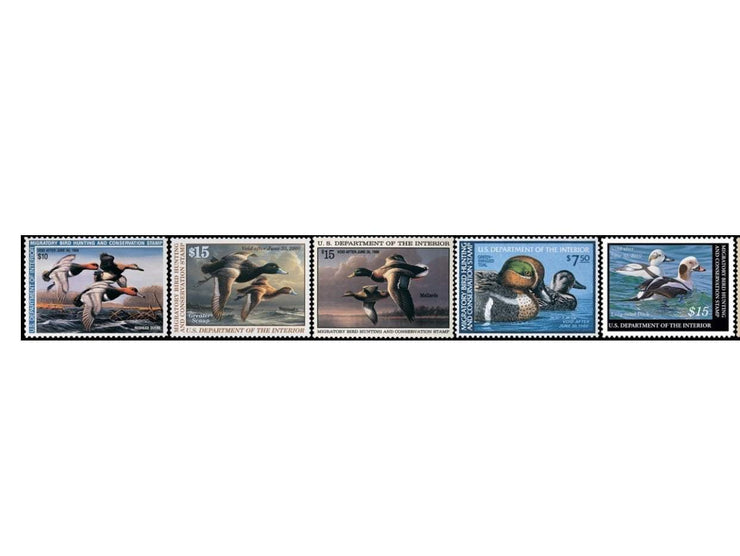 2013 Federal Duck Stamp Collection - Covey and Paddle
