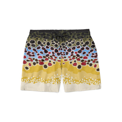 Brown Trout Swim Shorts - Covey and Paddle