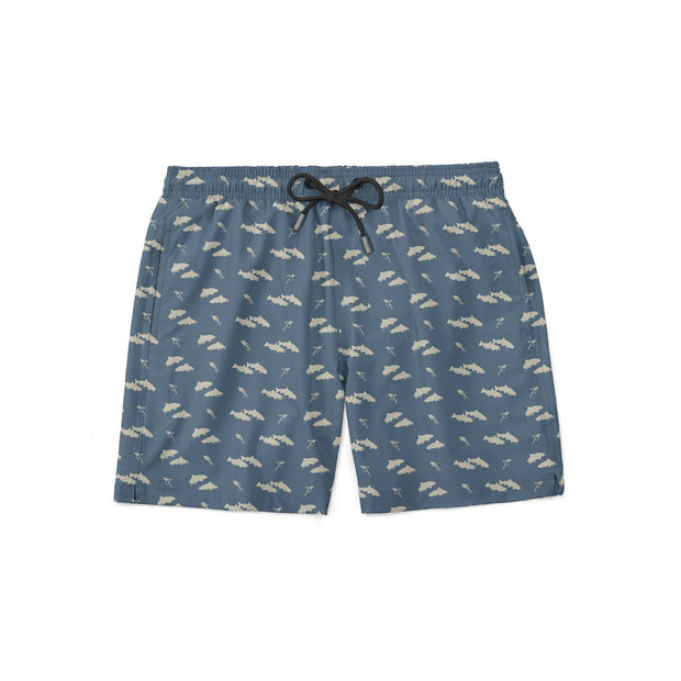 Double Trout Swim Shorts - Covey and Paddle