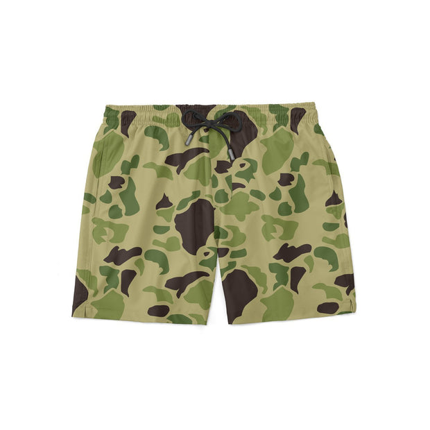 Light Traditional Camo Swim Shorts - Covey and Paddle