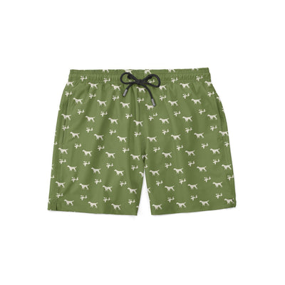 Setter and Quail Swim Shorts - Covey and Paddle