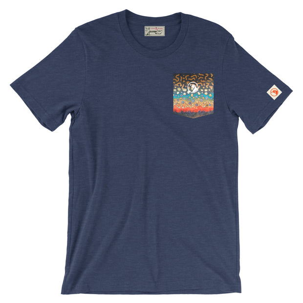 Brook Trout Pocket Tee - Covey and Paddle