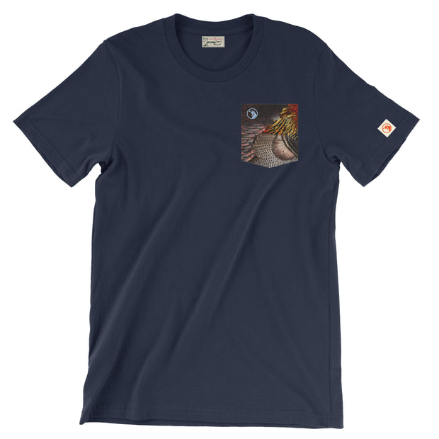 The Gobbler Pocket Tee - Covey and Paddle