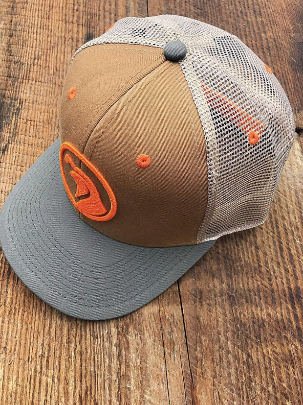 The Sportsman Trucker - Orange - Covey and Paddle