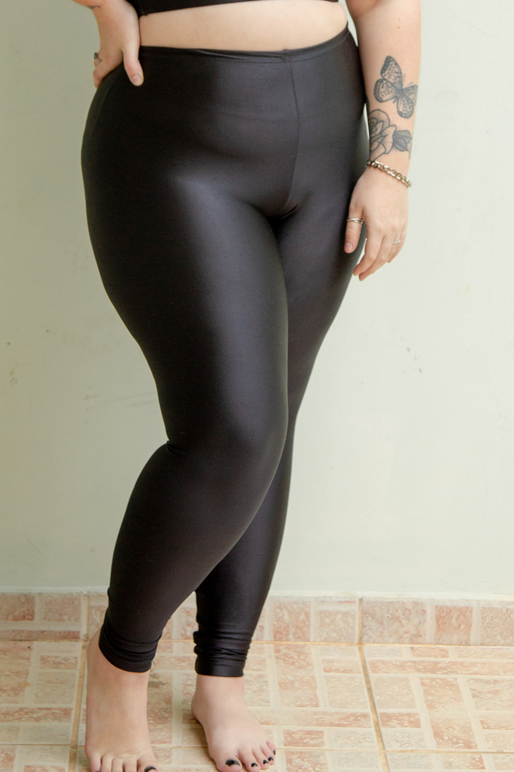 black legging - high waisted