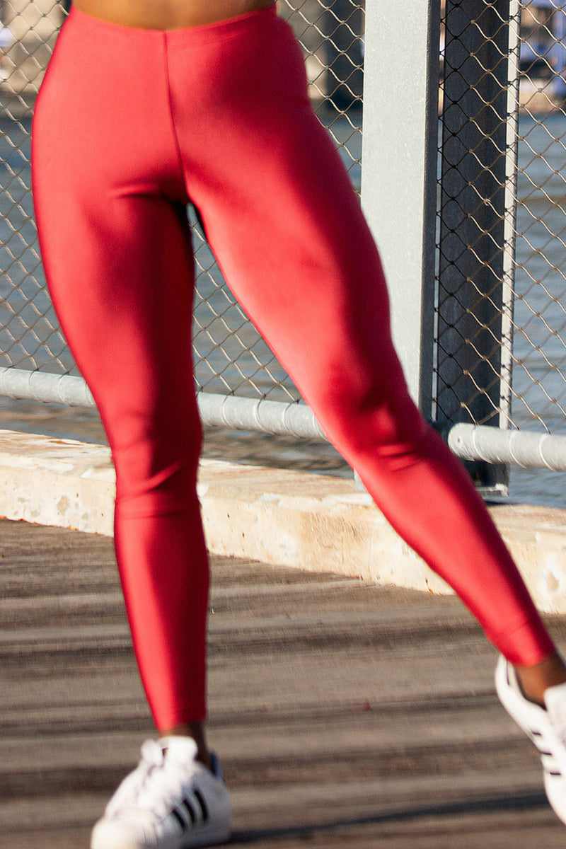 cherry legging - high waisted