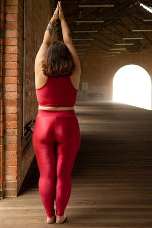 cherry legging - with waistband