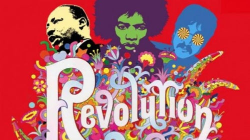 Mostra revolution: records and rebels 1966-1970. Dai beatles a woodstock - miguidi