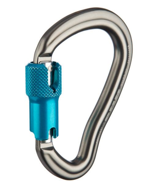 Carabiners - 3600Lb gate -Aluminum , Steel & Stainless Steel