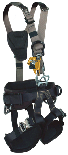 Yates 387P Basic Rope Access Professional Harness w/Quick Release leg buckles