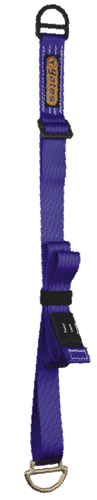 yates 4-9 foot adjustable ANSI NFPA Anchor strap. now at a deeply discounted sale closeout price