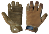 925 YATES Tactical Rappel / Fast Rope Gloves tan