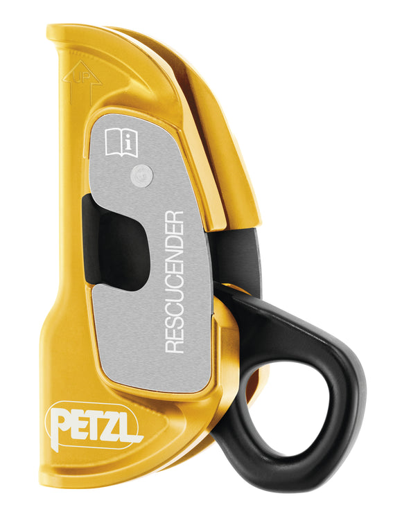 Petzl Rescucender Openable Cam-Loaded Rope Clamp