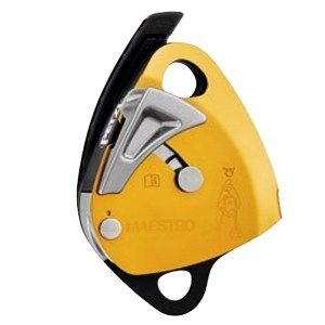 Petzl MAESTRO Descender with integrated progress-capture pulley