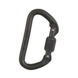 "LM-Omega Pacific ""D"" CARABINER Screwgate -27kN/6000+lbs. -Aluminum LIBERTY MOUNTAIN PART#LM-433017. now at a deeply discounted sale closeout price"