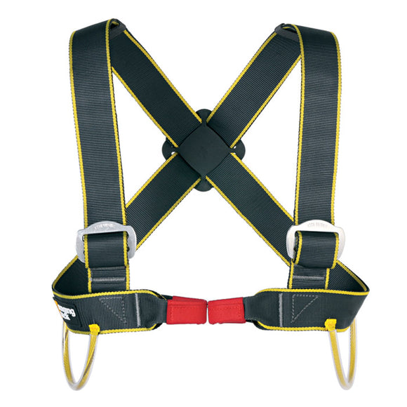ABC/Cypher GUIDE CHEST HARNESS LIBERTY MOUNTAIN#448451 Integrates to most arborist and caving seat set harnesses for big wall climbing with the Petzl Chester Center Petzl Crow