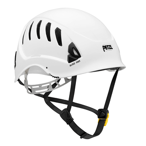 Petzl ALVEO VENT  Ventilated helmet for work at height -ANSI Z89.1-2009 type I classe C red. Rope Access SPRAT/IRATA ready now at a deeply discounted sale closeout price