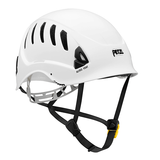 Petzl ALVEO VENT  Ventilated helmet for work at height -ANSI Z89.1-2009 type I classe C white.  Rope Access SPRAT/IRATA ready now at a deeply discounted sale closeout price