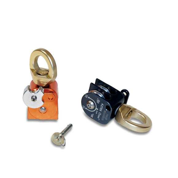 Rock Exotica Aztek Pulley Set (2 Pulley, 1 Pin, 1 Cover)~TWO COLOR OPTIONS part#P41 SET