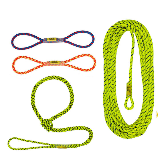 Sterling Rope Aztek Rope Set ~Two color options(Bright or Black)-P41 ROPE.  For use with all versions of the Aztek & Aztek Elite systems.  SAR/Mountain rescue ready now at a deeply discounted sale closeout price