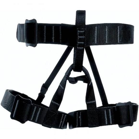 BlueWater #740600 Apex Seat Harness ~TACTICAL BLACK in use at fort brag for military rap training wit figure 8a