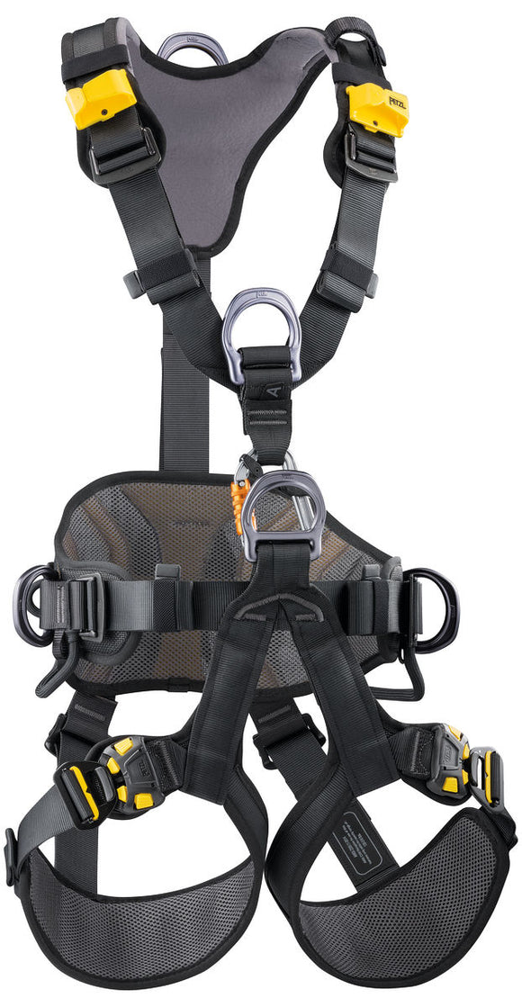 Petzl AVAO BOD FAST international version Comfortable harness for fall arrest, work positioning and suspension 2019 version PART#C071DA03
