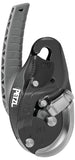 Petzl I'D® EVAC Self-braking descender with anti-panic function for lowering from an anchor part#PT-D020CA01 black
