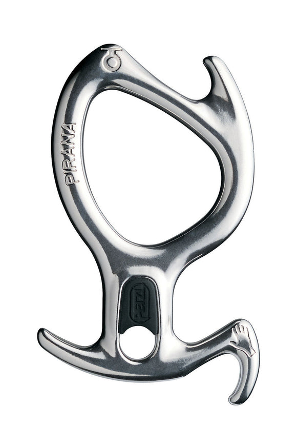 Petzl PIRANA Descender -In Silver or Black -part#D05 D05 NOI