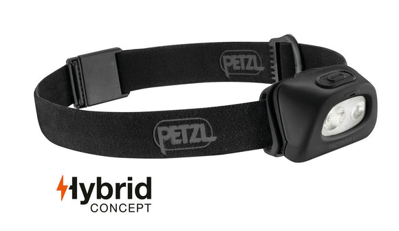 Petzl TACTIKKA® + Compact headlamp w/white light and red light -250 lumens