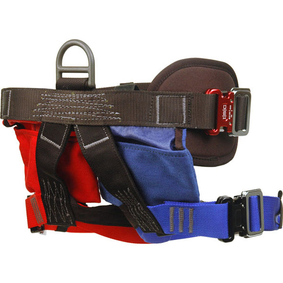 RT Victim Harness - 3 Clik-Lok Buckles and leg storage pouch by Rescue Tech
