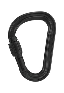 Petzl ATTACHE Ultra-light asymmetrical Screwgate carabiner -Aluminum PART#M38A SLN
