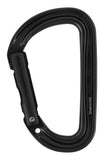 Sm'D Ultra-light asymmetric Non-Locking carabiner BLACK upgrade from the petzl spirit body with a teather hole