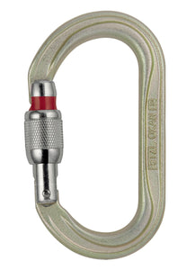 Screwgate oval/steel. Ropes course/climbing gym ready kernmantle now at a deeply discounted sale closeout price Petzl Oxan