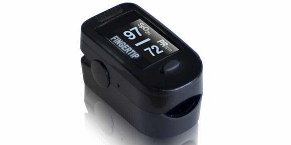 According to the Mayo Clinic, a normal pulse oximeter oxygen level reading is between 95% and 100%, and anything less than 90% is considered dangerously low, or hypoxic. Some doctors have reported COVID-19 patients entering the hospital with oxygen levels at 50% or below. FingerTip Pulse Oximeter