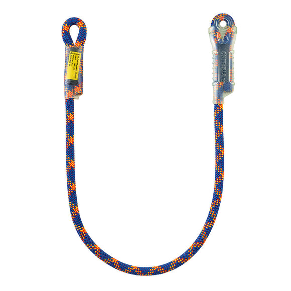 Sterling 10.7mm Marathon Lanyard w/sewn eyes on both ends MBS=17kN/3822Lbs 60cm 80cm 50cm 200cm referred by some intellectuals as a cows tale or cows tail.  Rope Access SPRAT/IRATA ready now at a deeply discounted sale closeout price. like the petzl jane